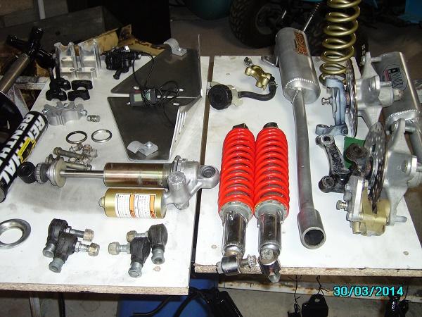 restauration du banshee 87 (the diable machine ) tof resto Imgp0512
