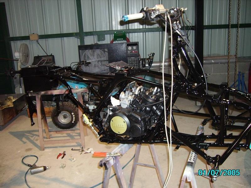 restauration du banshee 87 (the diable machine ) tof resto Imgp0522