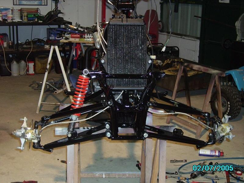 restauration du banshee 87 (the diable machine ) tof resto Imgp0525