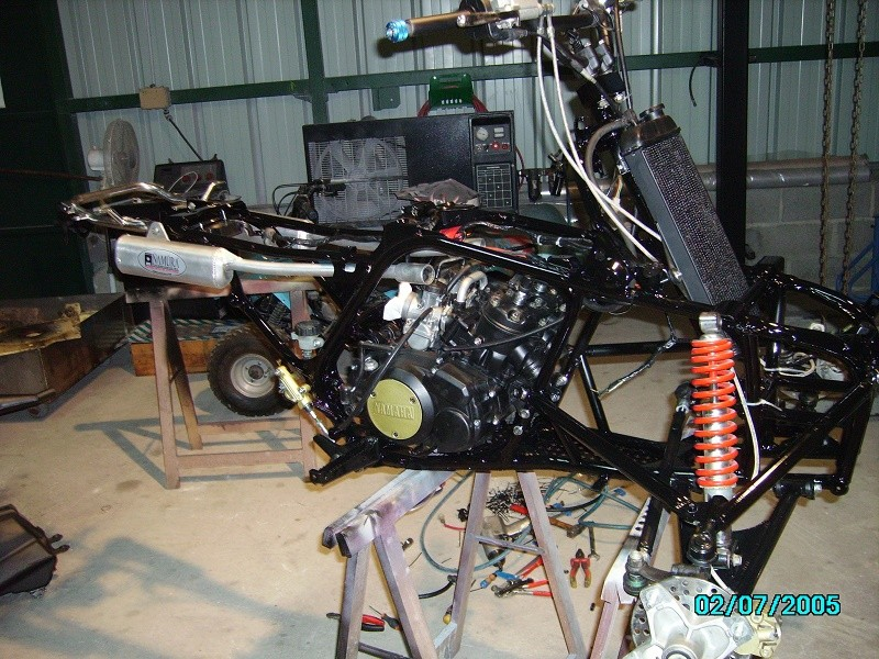 restauration du banshee 87 (the diable machine ) tof resto Imgp0526