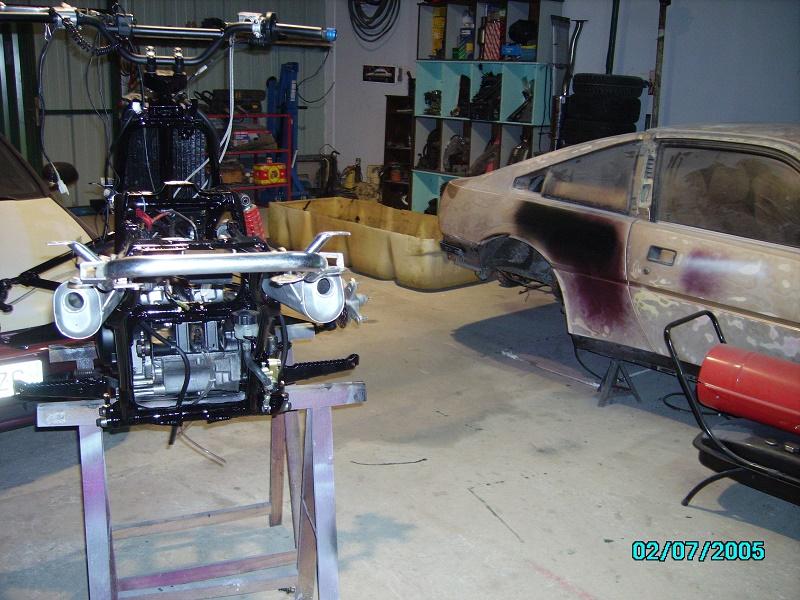 restauration du banshee 87 (the diable machine ) tof resto Imgp0527