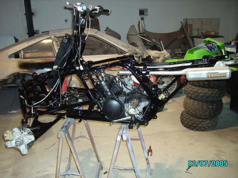 restauration du banshee 87 (the diable machine ) tof resto Imgp0528
