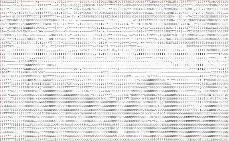 ASCII Art Generator Impala10