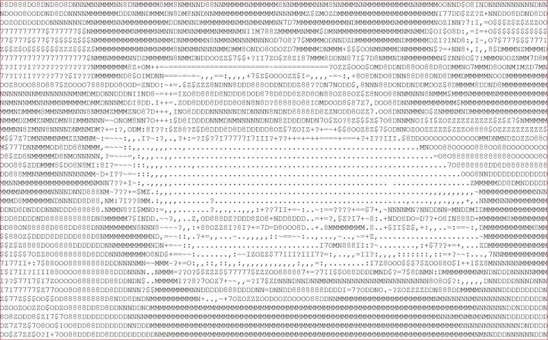 ASCII Art Generator Impala11