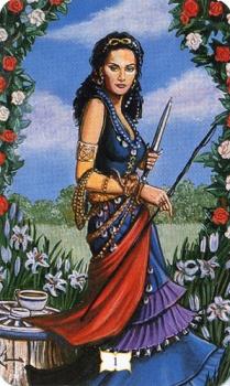 Цыганское Таро Роланда Бакленда (Buckland Romani Tarot) 01_maj10