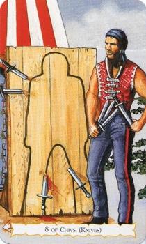 Цыганское Таро Роланда Бакленда (Buckland Romani Tarot) 43_min10