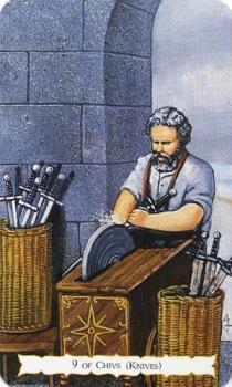Цыганское Таро Роланда Бакленда (Buckland Romani Tarot) 44_min10