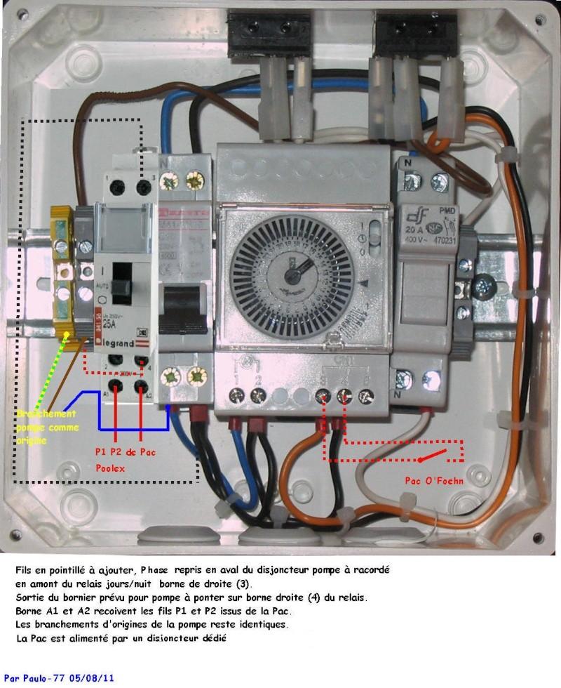 Branchement électrique Poolex Dreamline 95 Tablea11