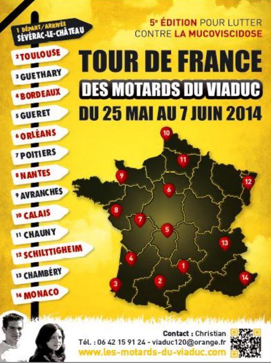 25/05 au 07/06/14 Tour de France des MDV Carte_10