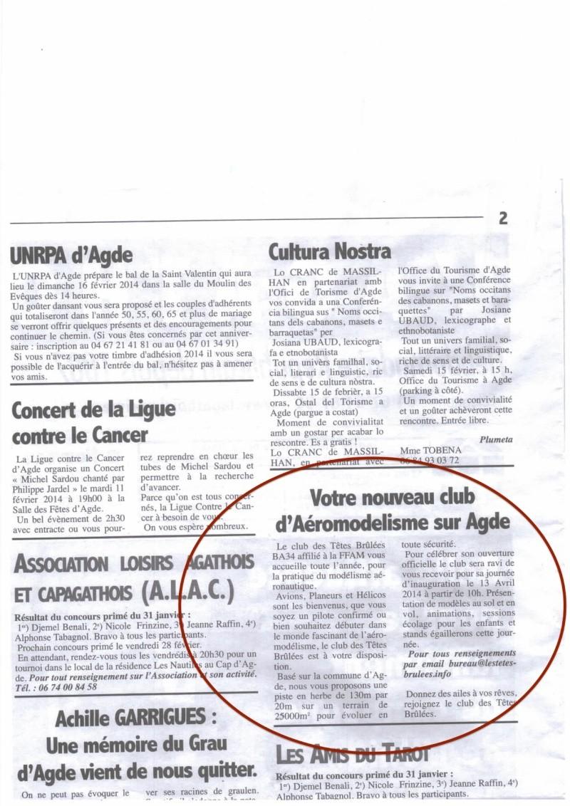 Journal L'Agathois du Jeudi 6 février 2014 Img-1410