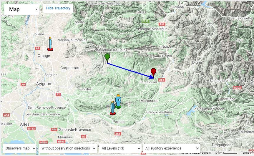 Chute probable du 2 juin dans le Vaucluse Ams10