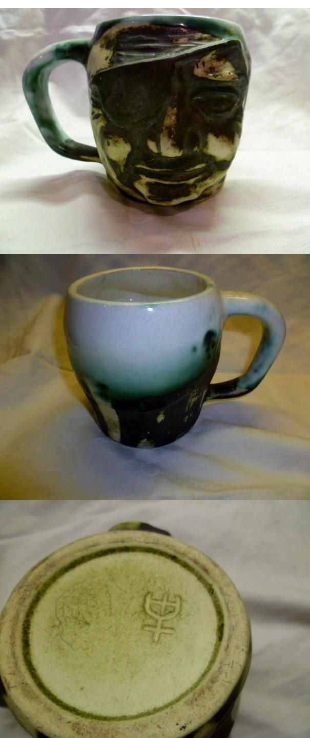 Andre Loret, Sidmouth Pottery, Devon  Apirat10