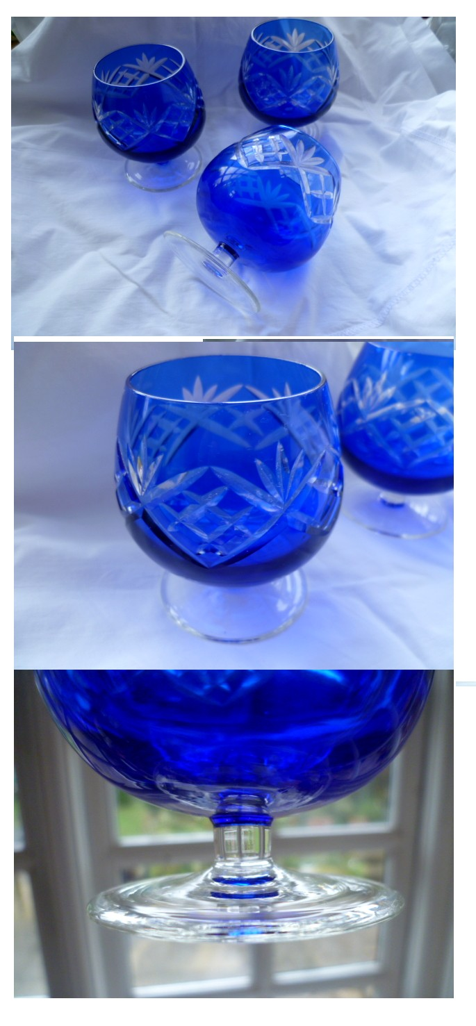 Cut blue brandy glasses but are they modern China import or vintage Mohemia Untitl11