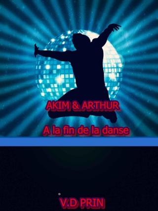 PRIN V.D - Tome 5 - Akim & Arthur : A la fin de la danse Cover10