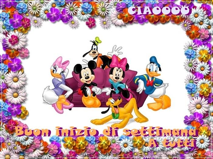 LUNEDI 20 FEBBRAIO UN SALUTO PER TUTTI Disney10