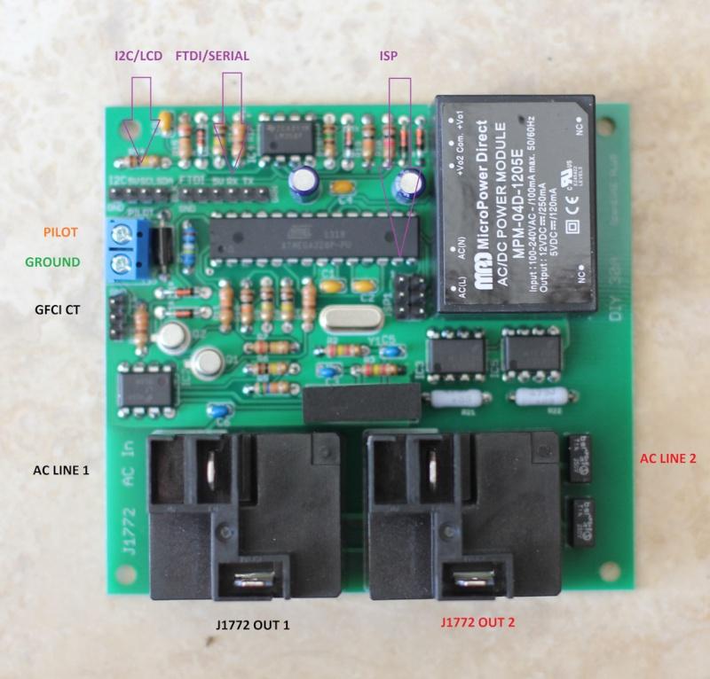 [OpenEVSE] CRO Ultra Light réglable monophasé (8-16A/1.8-3.7kW) Openev10