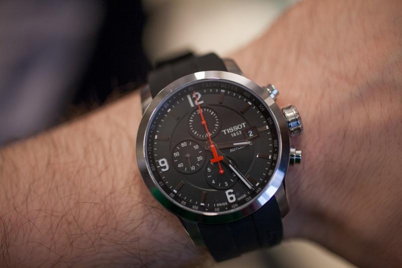 Un chrono typé sport auto à moins de 1000€. Tissot11