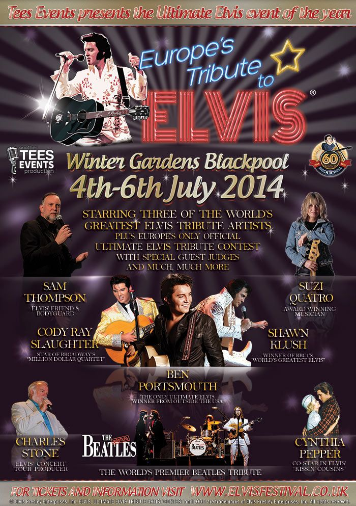 Europe's Tribute to Elvis Festival Blackpool 2014 A5-fly10