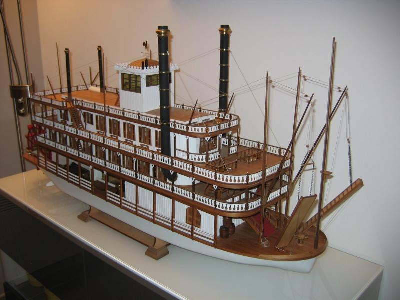 Construction d'un bateau à roue à aube : le Mississippi 1870 Img_0010