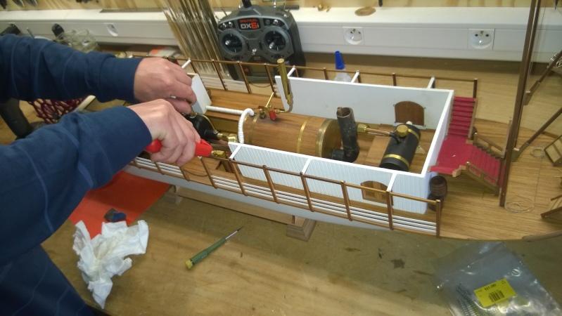 Construction d'un bateau à roue à aube : le Mississippi 1870 Wp_20110