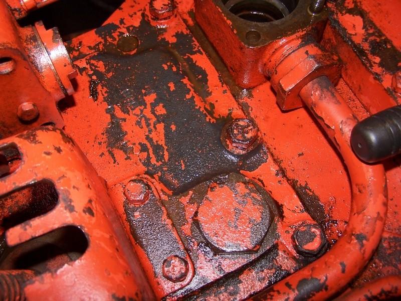 vidange hydraulique sur super 6d  probl u00e8mes rencontr u00e9s