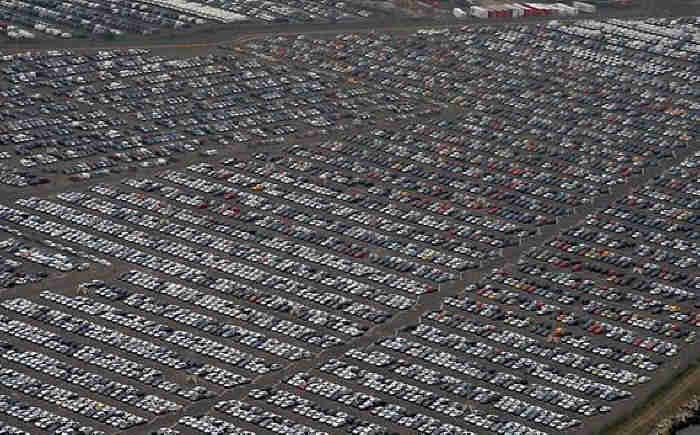 Hundreds of Thousands of Brand New Unsold Cars Parked Worldwide to Rot in Car Graveyards  Yu710