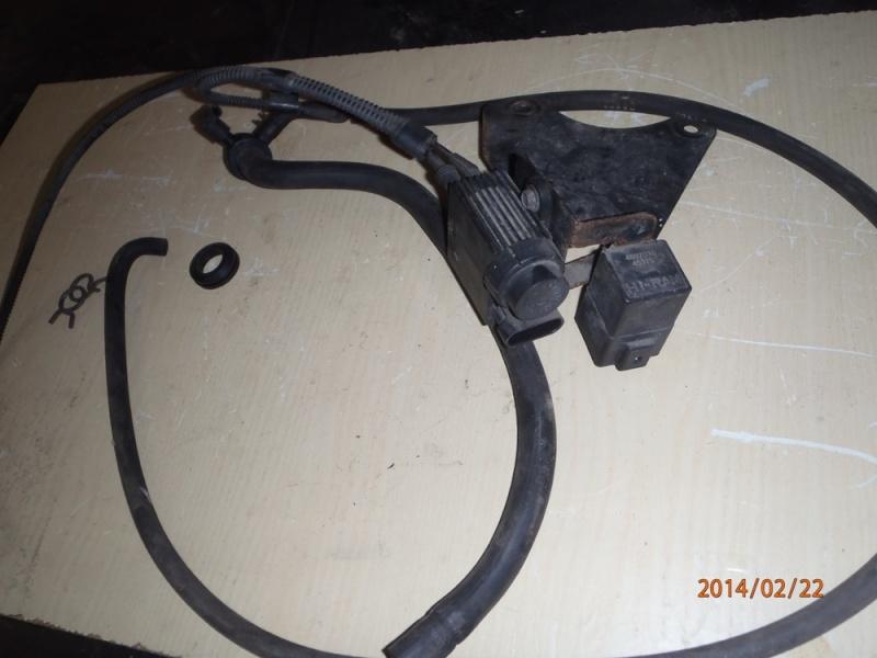Pompe à vide sur moteur VM. P2220010