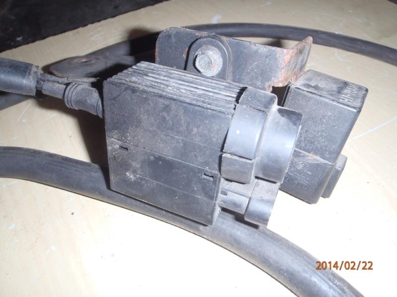 Pompe à vide sur moteur VM. P2220013