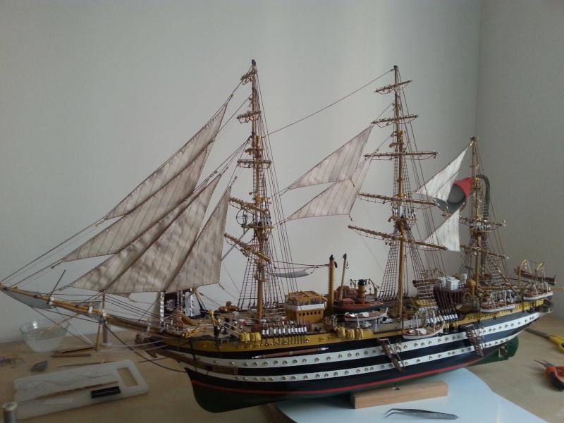 vespucci - Il mio primo cantiere navale, Amerigo Vespucci, scala 1/100 DeA - Pagina 16 Samsun10