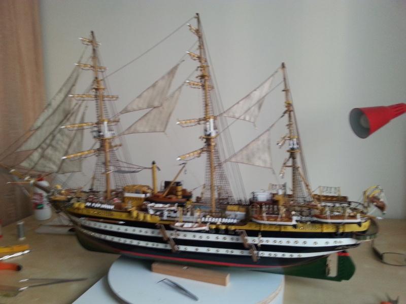 vespucci - Il mio primo cantiere navale, Amerigo Vespucci, scala 1/100 DeA - Pagina 16 Samsun11