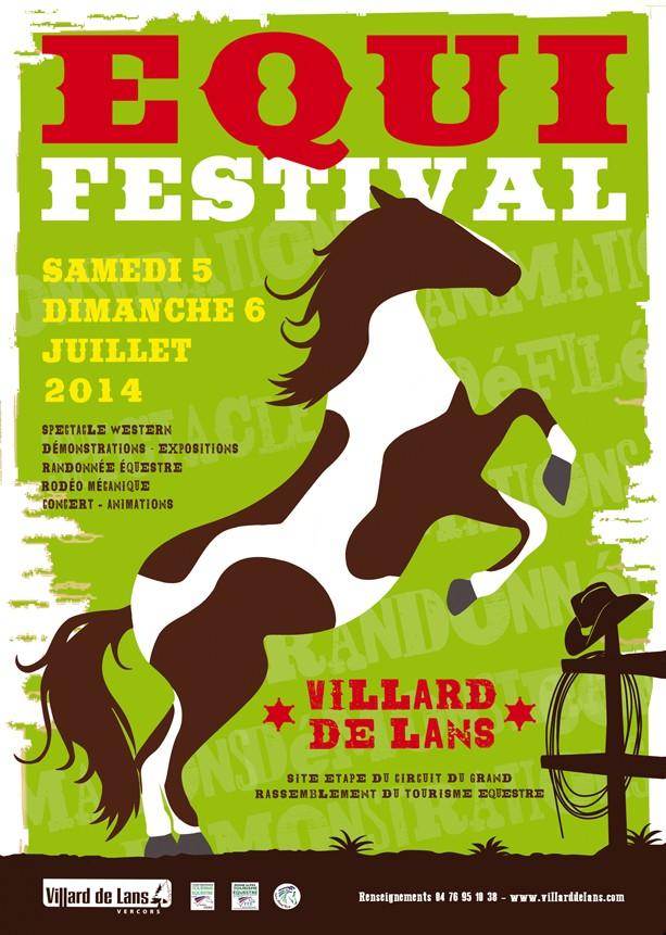 EquiFestival 2014 à Villard de Lans les 5 et 6 juillet Affich10