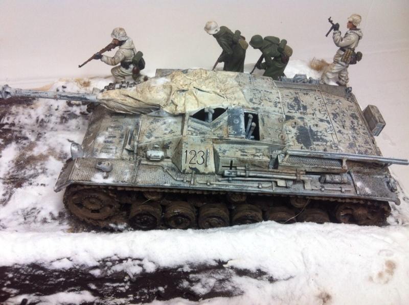 Stug III dans la boue en appui d'infanterie. Img_0124