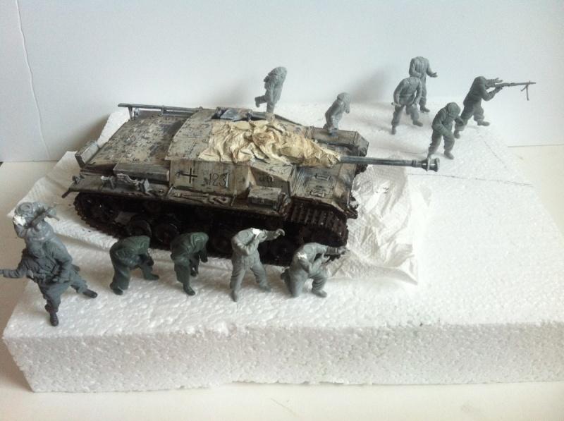 Stug III Ausf. C/D w/7.5cm L48 [Cyber Hobby 1/35] -Terminé- - Page 2 Img_1018