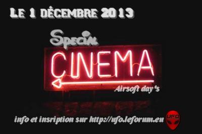 partie ouverte chez les UFO le 01 décembre 2013 spéciale CINEMA 23100611
