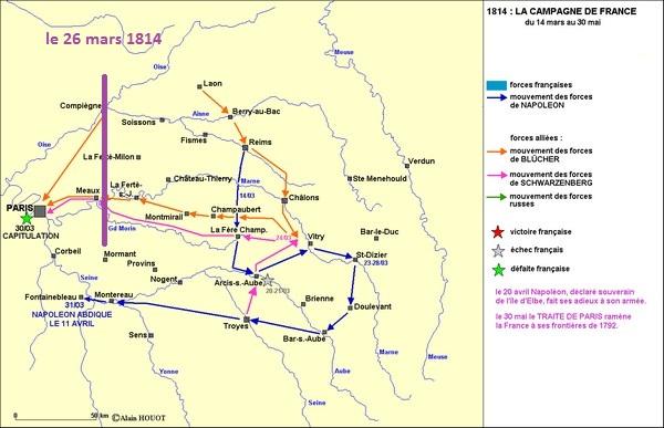 30-31 mars 1814 : Le plan pour l'intelligence échoue à Fontenay sous Bois 1814_210