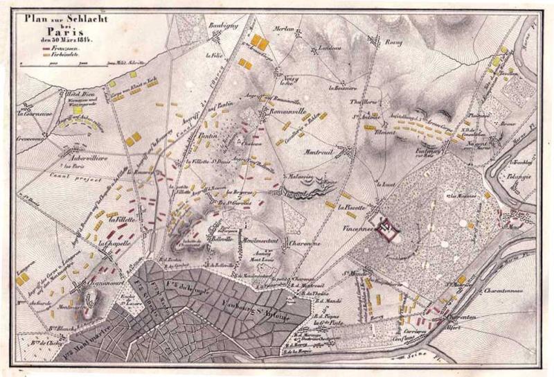 30-31 mars 1814 : Le plan pour l'intelligence échoue à Fontenay sous Bois 1814_410