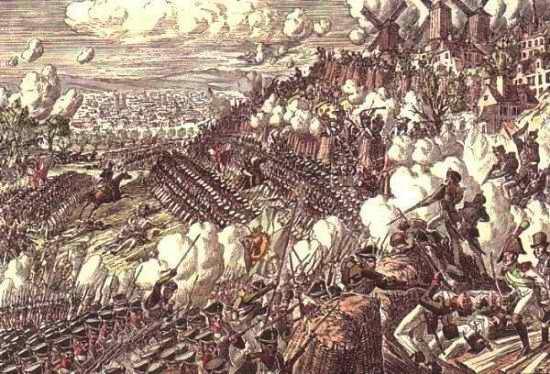 30-31 mars 1814 : Le plan pour l'intelligence échoue à Fontenay sous Bois 1814_510