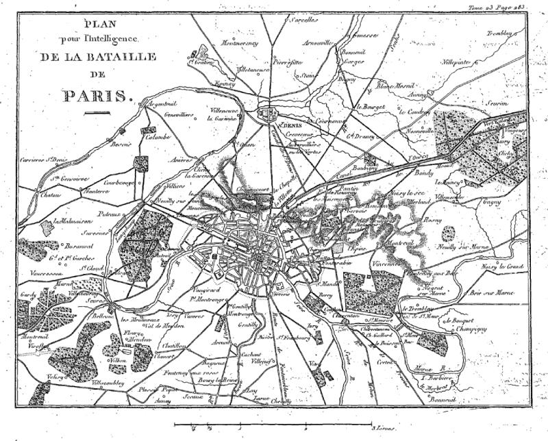 30-31 mars 1814 : Le plan pour l'intelligence échoue à Fontenay sous Bois 1814_b10