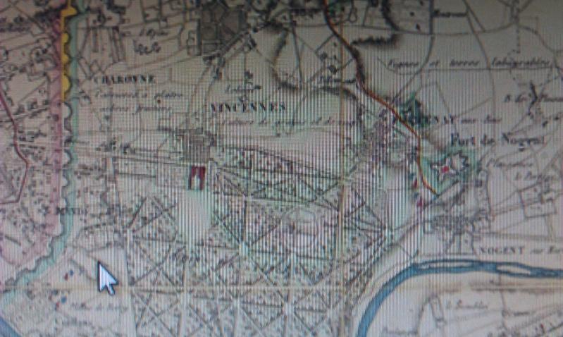 30-31 mars 1814 : Le plan pour l'intelligence échoue à Fontenay sous Bois 1852_110
