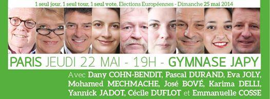 Listes pour les européennes  Europe11