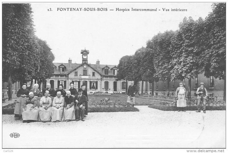 La création de l'Hospice Intercommunal de FONTENAY-SOUS-BOIS Hospic11