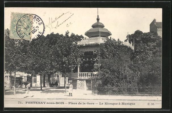 Ligne de la Bastille, ancëtre du RER de Saint-Mandé à Boissy-Saint-Léger Kiosqu10