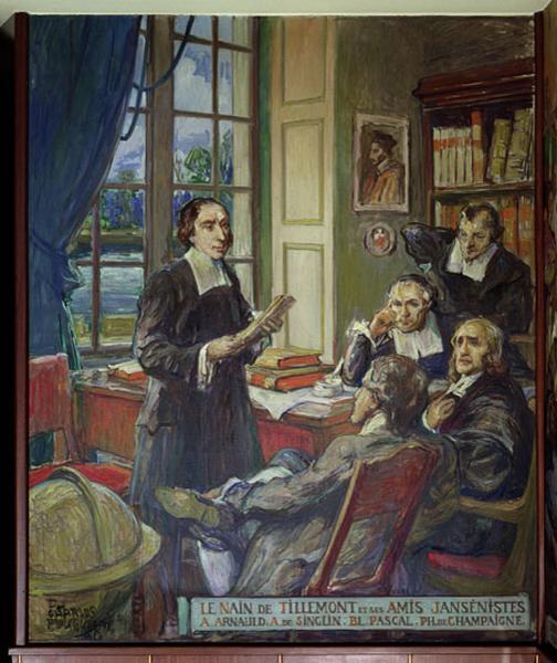 La querelle de l'Unigenitus à Fontenay de Lenain de Tillemont à l'abbé Lebeuf Lenain10