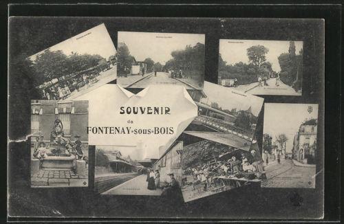 Ligne de la Bastille, ancëtre du RER de Saint-Mandé à Boissy-Saint-Léger T010
