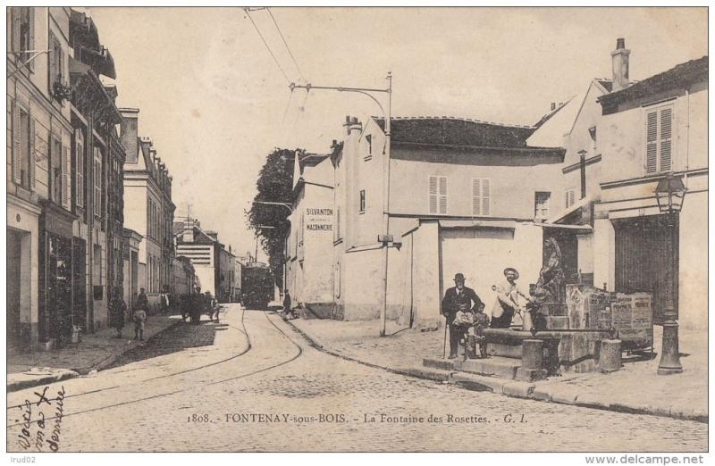 Ligne de la Bastille, ancëtre du RER de Saint-Mandé à Boissy-Saint-Léger T110