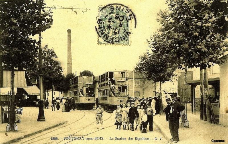 Ligne de la Bastille, ancëtre du RER de Saint-Mandé à Boissy-Saint-Léger T410