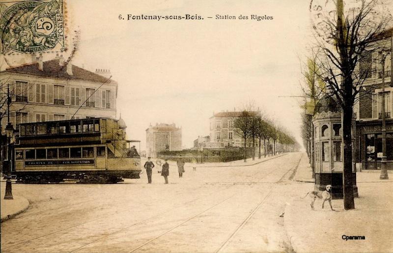 Ligne de la Bastille, ancëtre du RER de Saint-Mandé à Boissy-Saint-Léger T510