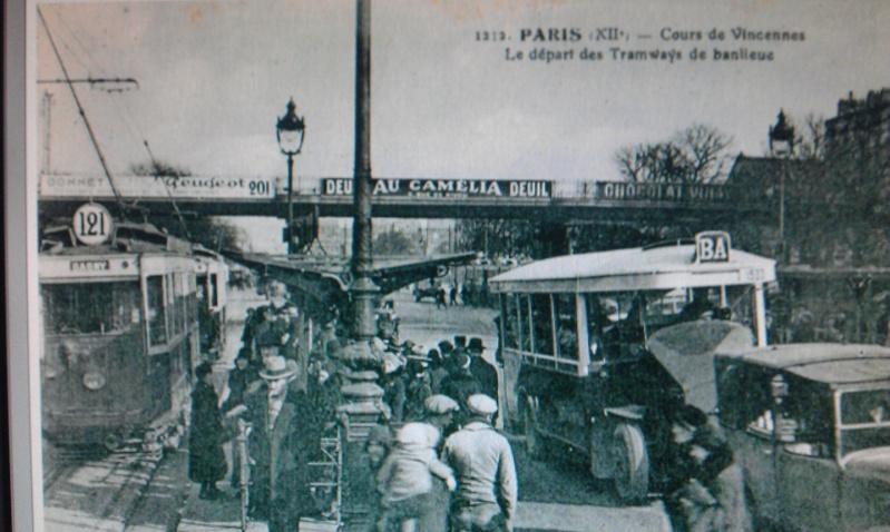 Ligne de la Bastille, ancëtre du RER de Saint-Mandé à Boissy-Saint-Léger T6110