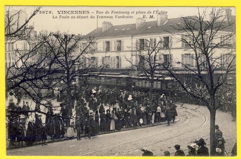 Ligne de la Bastille, ancëtre du RER de Saint-Mandé à Boissy-Saint-Léger T6510
