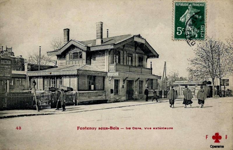 Ligne de la Bastille, ancëtre du RER de Saint-Mandé à Boissy-Saint-Léger T710